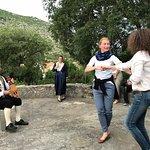 Musiklaische Einlage mit Ljerice und Tanzeinführung