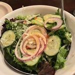 10-22-17 Salad: Good ingredients, dressing that caused acid reflux for both of us.