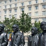 Photo of Beatles statue