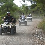 Quad Safari Kiotari - scenic surroundings, wind and discovering new places driving off road!