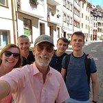 #NurembergToursinEnglish with #HappyTourCustomers at Weißgerbergasse