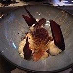 Papillon sucré pour un cromesquis chocolat