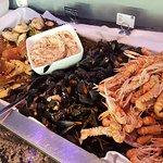 Sea food dinner