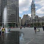 Beautiful park we LOVE Love Park! We're riding our bikes through the city and what a wonderful v