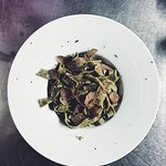 Fettuccini à la truffe noire