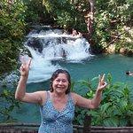 Cachoeira da Formiga, parece mentira, mas é verdade, aguá morna, super agradável,