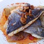 sea bass...delicious