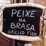 Peixe grelhado, sempre fresco!!