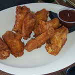 Chicken wings BBQ sauce