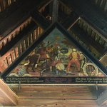 painting in the rafters