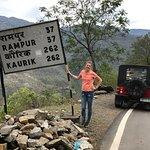 On the way to Spiti, Tibetan border starts approaching...