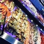 Kreeft, krab, oesters, langoustines, en andere zeevruchten