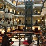 Central part of the Gran Hotel Ciudad De Mexico Hotel Lobby