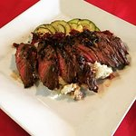 Flank Steak cooked to perfection