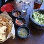 Amazing guacamole & fresh salsa