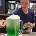 Great Lime Ice Cream Soda