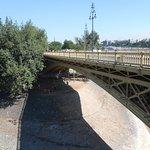 a passeggio sul ponte