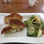 yummy lobster sandwich