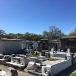 Old cemetery in the Garden District