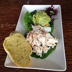 Crab & Avocado starter - awesome, real crab & lots of thick pieces