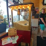 Popcorn as you enter