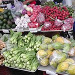 A produce stand