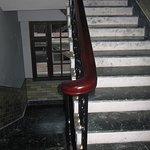Inside stair of Temi Residency, Gangtok.