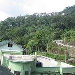 Clear rear view from Temi Residency, Gangtok.