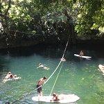 Cenote Verde Lucero照片
