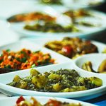 Seasonal Vegetables Curry Plate