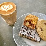 Coffee, cakes, slices & biscuits