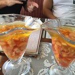 fruit gelly desert