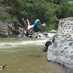 Flipping at the Refreshment stop