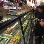 some of the selection of cakes at Brunettis