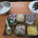 Cucur Udang ingredients