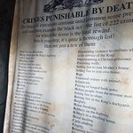 """Crimes punishable by death"""
