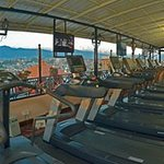 Fitness Center on the fourth floor of the main wing