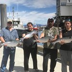 Everyone managed to catch their dinner! Active Angler Fishing Charters 1025 Lee Rd | French Cree