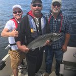 Catch of the day for this little group! Active Angler Fishing Charters 1025 Lee Rd | French Cree