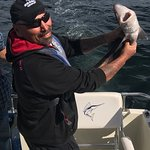They said there were no sharks here...but they lied! Catch and release, Active Angler Fishing Ch