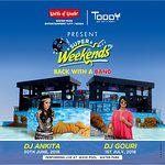 Super Weekends 2018 with DJ Ankita & DJ Gouri live on 30th June & 1st July, 2018 at Water Park