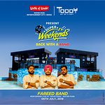 Rock your Super Weekends 2018 with Fareed Band performing live on 6th July, 2018  at Water Park