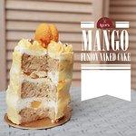 Mango Fusion Naked Cake