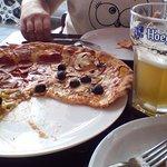 Отличная пиццерия