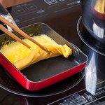 Yummy Tamago-yaki (Japanese omelet).