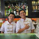 Two of our bartenders, meet Kadri and Adam