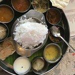 the veg thali
