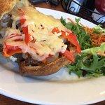 Steak Sandwich in a Popover