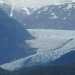 Glacier 2 miles wide.