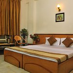 room with attach bath hot and cold water with shower, lcd tv with satelite channels, , wifi
